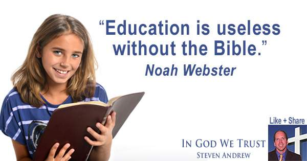 Steven Andrew Calls for Daily Bible Reading to Be in Schools Again