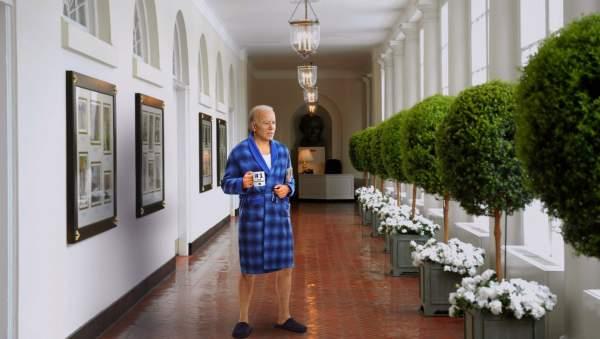 Terrified Biden Wanders Around The White House Wondering Where Obama Went | The Babylon Bee