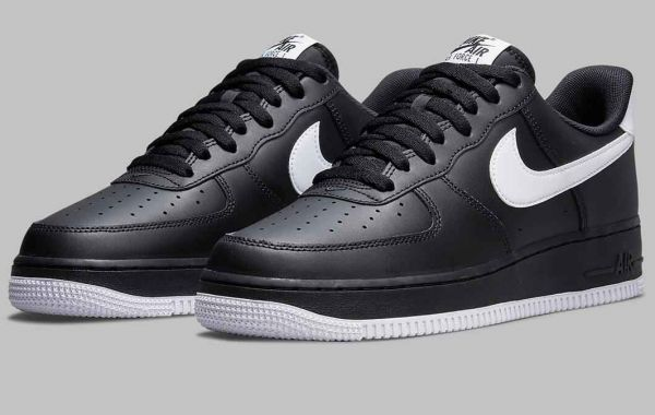 Tuxedo Look Coming With The Newest Nike Air Force 1 Low