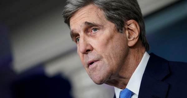 As John Kerry Jets Across Globe on Climate Tour, His Family Flies Private Jet to Vacation in Idaho