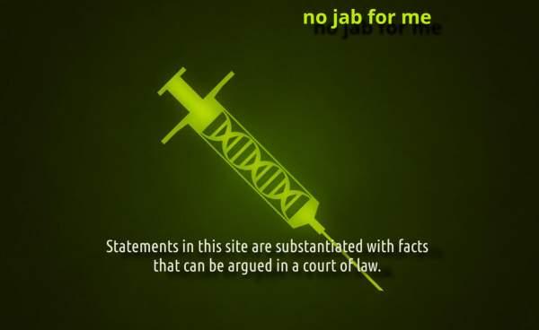 No Jab For Me