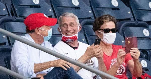 Watch: Fauci Justifies Children Wearing Masks Outside -- 'They Are More at Risk of Getting Infected'