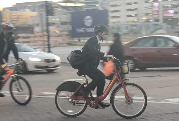 Clown Show: Buttigieg 'Bikes' To Work After SUVs Drive Him Partway