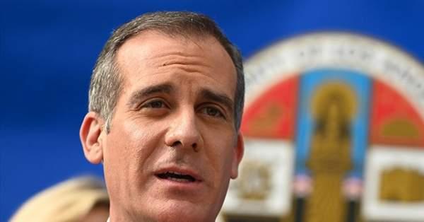 WATCH: LA Mayor Eric Garcetti Booed at Dodgers Game