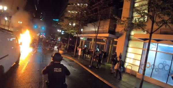 Suspected Portland firebomber arrested for trying to murder police officers   Fox News