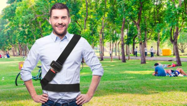 CDC Now Recommends Wearing A Seat Belt Even When You're Outside The Car   The Babylon Bee