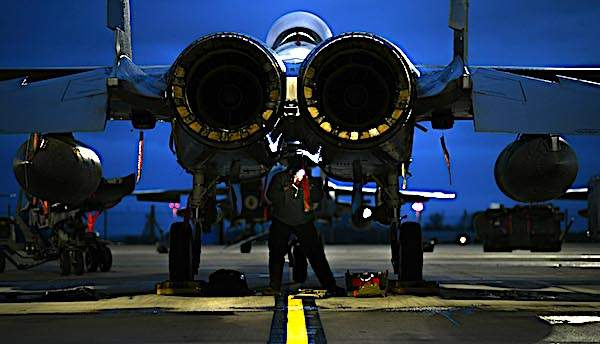 Guardsmen have horrifying theory on order to ready warplane for domestic mission