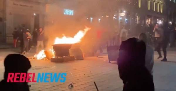 Multiple Businesses Vandalized After Anti-Curfew Protest in Montreal Turns Into Riot - Conservative News & Right Wing News | Gun Laws & Rights News Site