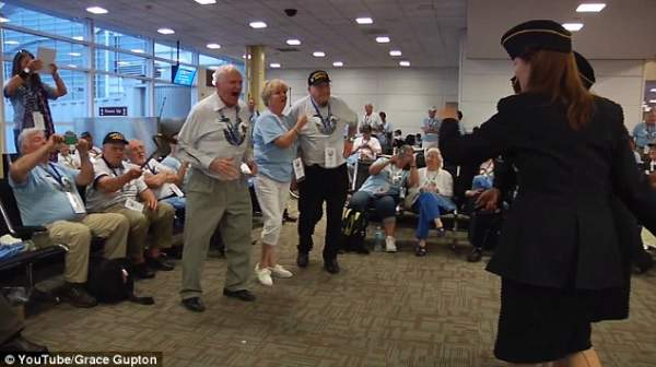 VIRAL VIDEO: These WWII Veterans Heard THIS Iconic War Song... What Happens Next Will Bring You To Tears