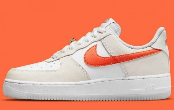 New Air Force 1 Low First Use Coming Classic Cream And Orange Look