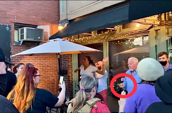 BLM-Antifa Rioters Target Upscale Restaurant in Louisville, Kentucky, At Least One Protester Is Armed! - Restaurant Patron Pulls a Pistol! (VIDEO)