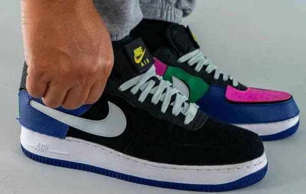 2021 New Air Force 1/1 Gets Its Most Multi-Colored