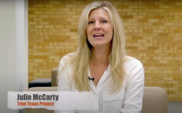 Grassroots Leader Julie McCarty Endorses Huffines for Governor | Texas Scorecard
