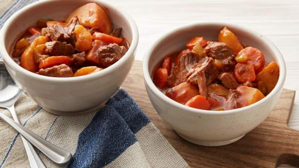 Slow-Cooker Old-Fashioned Beef Stew Recipe