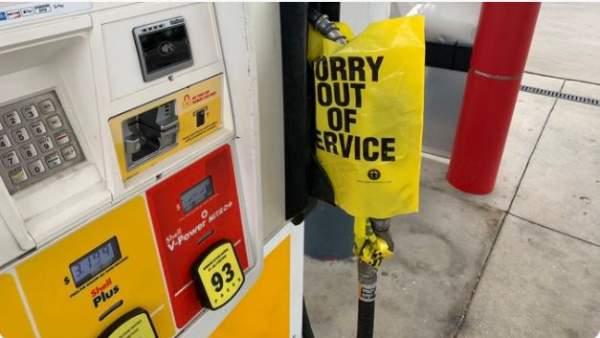 Gasoline shortages have begun… |