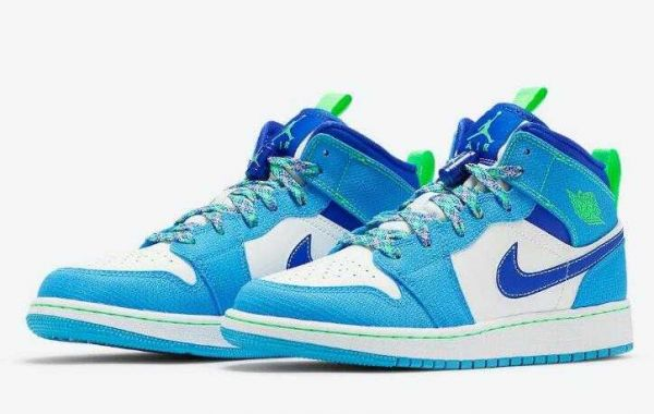 New Coming Sport Sneaker Air Jordan 1 Mid Inspired by the Outdoors