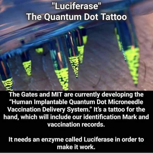Luciferase Quantum Dot COVID-19 Vaccinations - The Bill and Melinda Gates Satanic Agenda