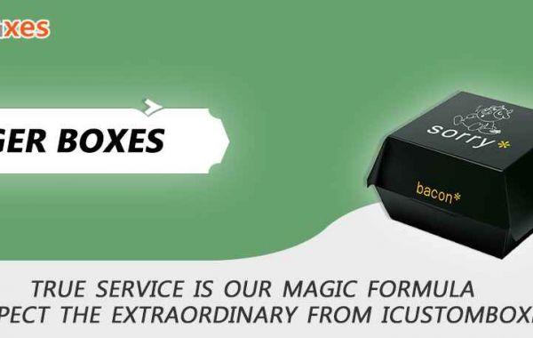 Custom Printed Burger Box Packaging Wholesale Rate