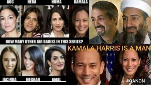 Kamalas Harris is a man Named Kamal Aroush, Osama Bin Ladin is CIA Operative Named Tim Osman, Who Barack Obama is Either Related to or Actually IS Osman. Our World is Just One Big Elaborate Ongoing Joke on the Rest of Us. WAKE UP! Aren't You Tired of Being Trolled? – FRINGE CULTURE: News You're Embarrassed to Admit is True