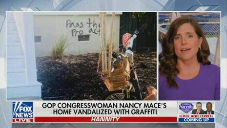Nets Ignore Home of GOP Rep. Mace Getting Vandalized By Leftists ⋆ 10z Viral