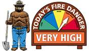 The Huckleberry Hiker: Fire Danger Has Increased to Very High in Grand Teton National Park