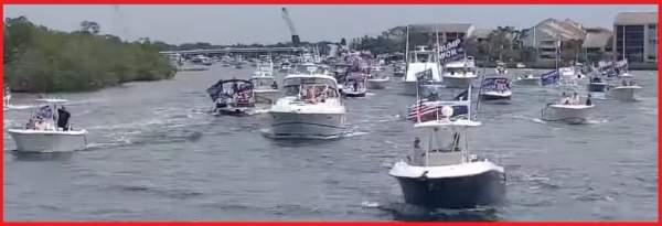 President Trump Delivers Remarks on Memorial Day MAGA Boat Parade in Jupiter Inlet, Florida - The Last Refuge