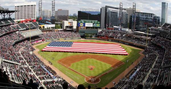 Small business group sues MLB Commissioner over moving All-Star game from Atlanta   Just The News