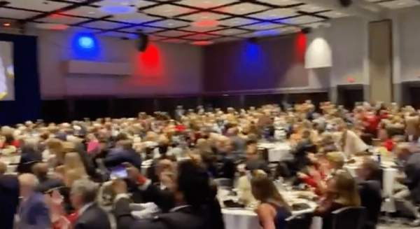 WATCH: Crowd Erupts in Cheers as Trump takes the stage in North Carolina - Red Paper News