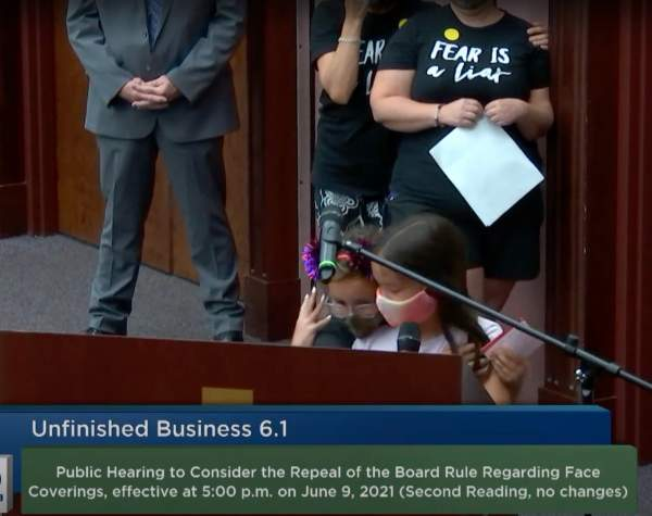 """""""Stop Listening to the Devil and Listen to God, Our Holy Father"""" - Little Children Melt Hearts at Pinellas County School Board Meeting in Florida"""