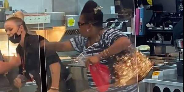 Video shows woman beating McDonald's employees allegedly over refusal to mix slushie flavors - TheBlaze