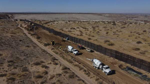 Texas Gov. Greg Abbott Put Down Some Serious Cash to Get His State-Funded Border Wall Going by Matt Vespa