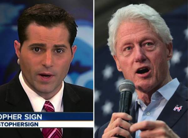 Christopher Sign: ABC Anchor Received Death Threats Over Clinton-Lynch Tarmac Story Before 'Suicide,' Fuels 'Assassination' Theory