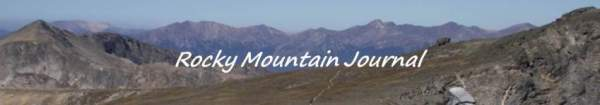 Rocky Mountain Journal: Rocky Mountain National Park Visitors: Beware of Area and Trail Closures This Year