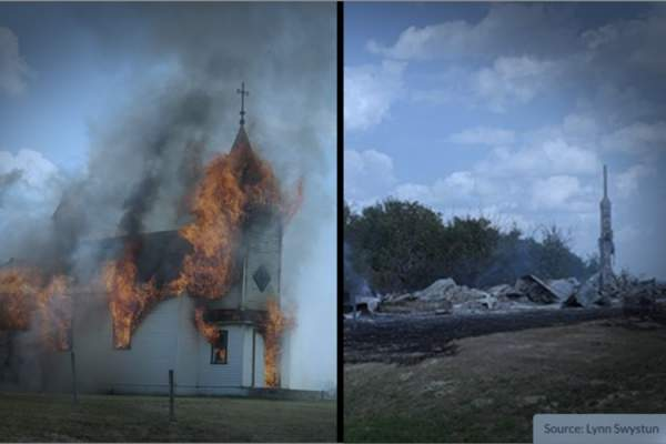 As at least 20 Canadian Churches Burn, Politicians and Others ENDORSE the Arson - The New American