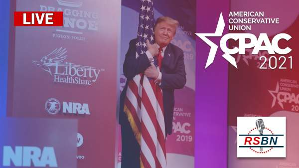 WATCH: President Trump Speaks at CPAC in Dallas, TX 7/10/21 - Right Side Broadcasting Network (RSBN)