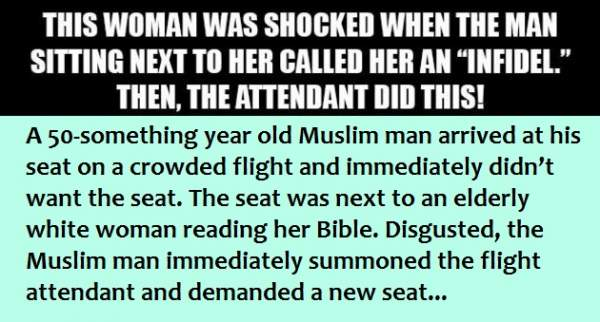 Woman Shocked When Man Calls Her An 'INFIDEL'... Then THIS Happened!