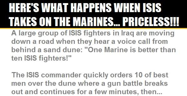 ISIS Tries To Take On United States Marines, Find Out That Was A HUGE Mistake...