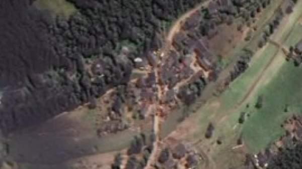 Erftstadt und Ahrweiler: Satellitenbilder zeigen das ganze Ausmaß der Flutkatastrophe - Video - WELT