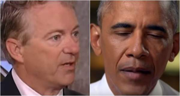 Rand Paul Wants Obama Officials Investigated For Inventing 'Russian Conspiracy' - Deplorable Tribune