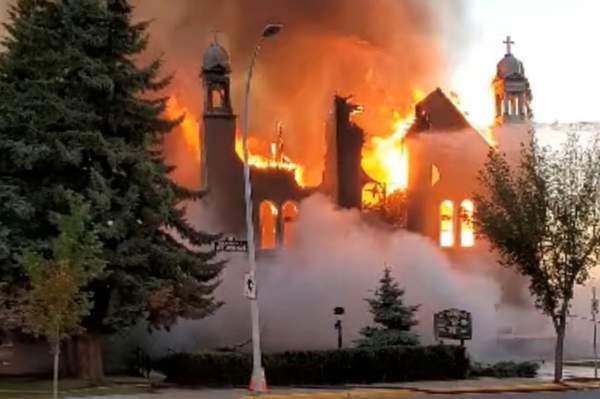 Canada's Churches are Burning - Professor Preponomics