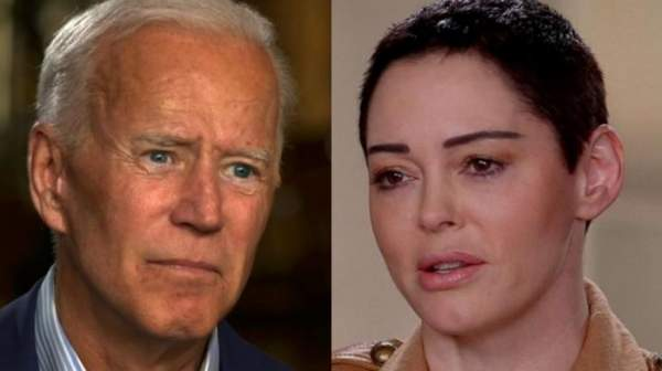 Fmr Democrat, Celebrity, Rape Victim, Rose McGowan: 'I Strongly Believe Joe Biden Is A Rapist' - Deplorable Tribune