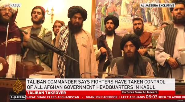 Taliban Disarming Civilians; Should Be Lesson on 2nd Amendment