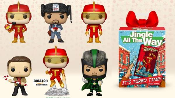 It's Turbo Time! 'Jingle All The Way' Funko Pops Are Coming! - The Week In Nerd