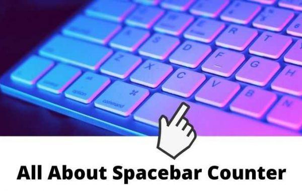 Take A Spacebar Speed Test Using this Spacebar Counter