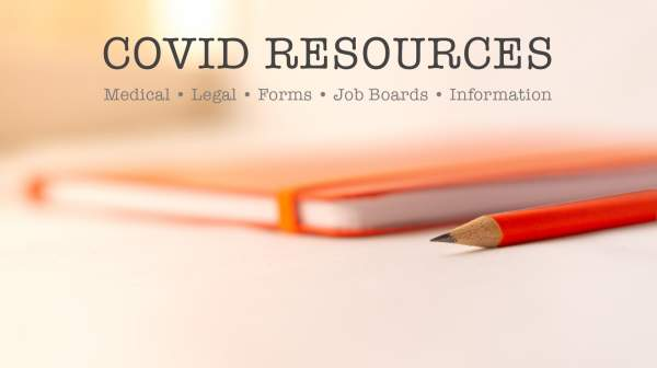 Covid-19 Resources: Medical, Legal, Forms, Jobs & Other Critical Information - coreysdigs.com