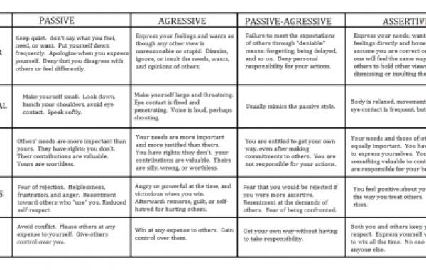 Assertiveness Vs Aggressiveness Worksheet Pro .zip Full Version X32