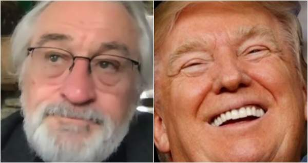"""BREAKING: """"I'd like to punch Trump in the face"""" Actor Robert De Niro Is Running Out Of Money - Deplorable Tribune"""