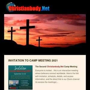 Virtual Camp Meeting- September 22-26