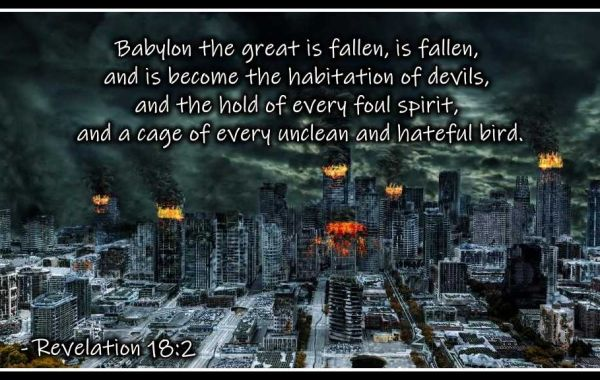 The Epistle of Jesus #14: The Fall of the Two Babylons
