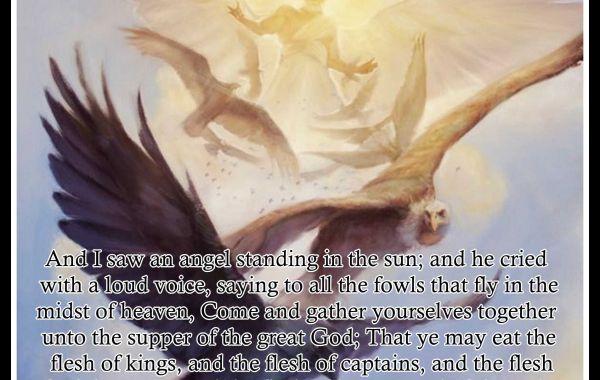 Epistle of Jesus #15: Hallelujah In Heaven, Hell on Earth Part 3 Hell Fills - Revelation 19:17-21